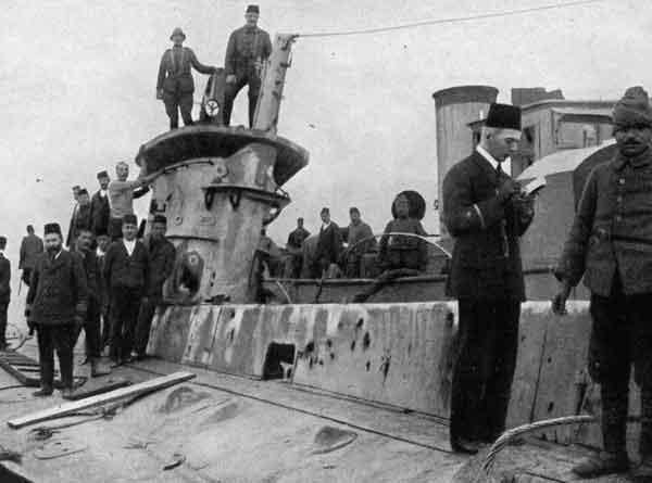 ottoman navy ww1