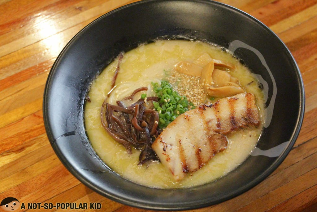 Mendokoro Ramenba's Shio Tonkotsu Ramen