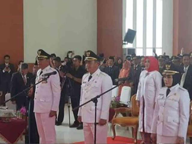Ali Mazi Lantik Ahmad Syafei, Muhammad Jayadin dan Lis Eliyanti di Kendari