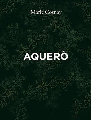 Aquero, Marie Cosnay, éditions de l'Ogre
