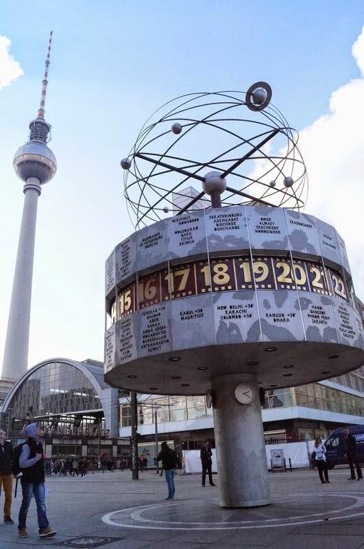 reloj mundial de berlin