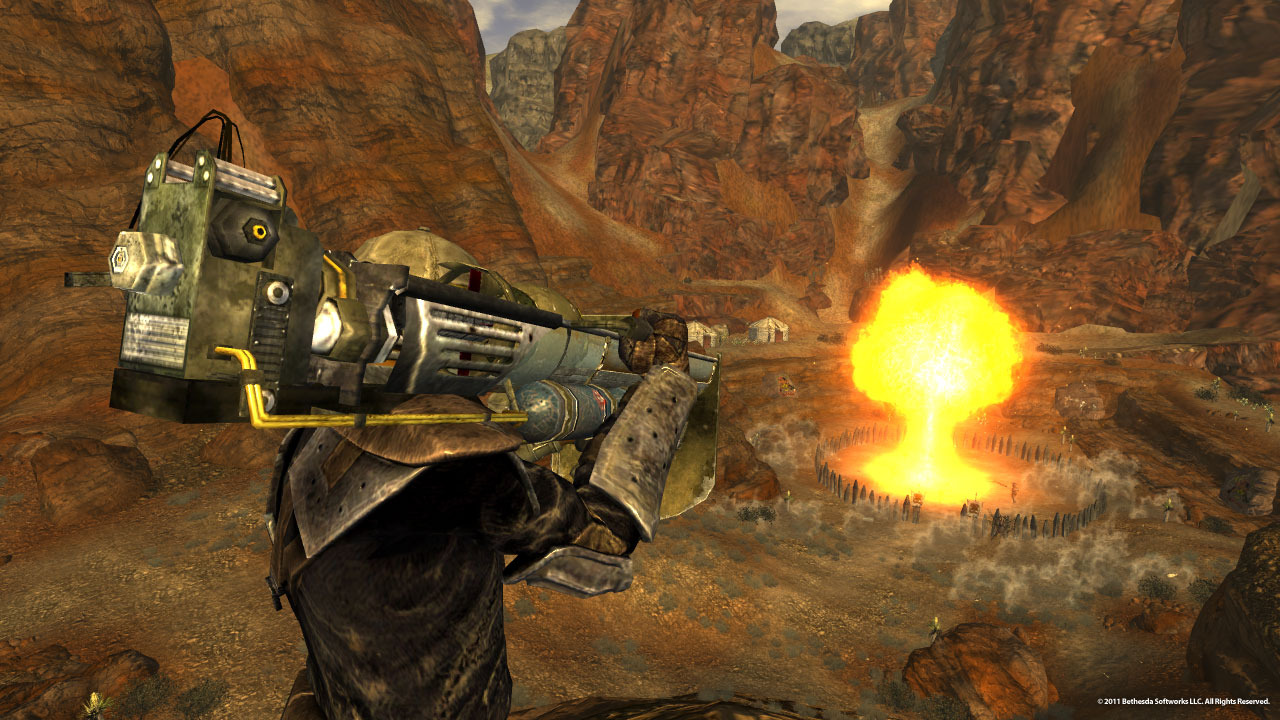 Fallout New Vegas Lonesome Road Ulysses