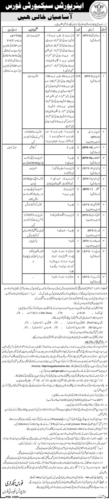 JOBS in ASF Pakistan 2016