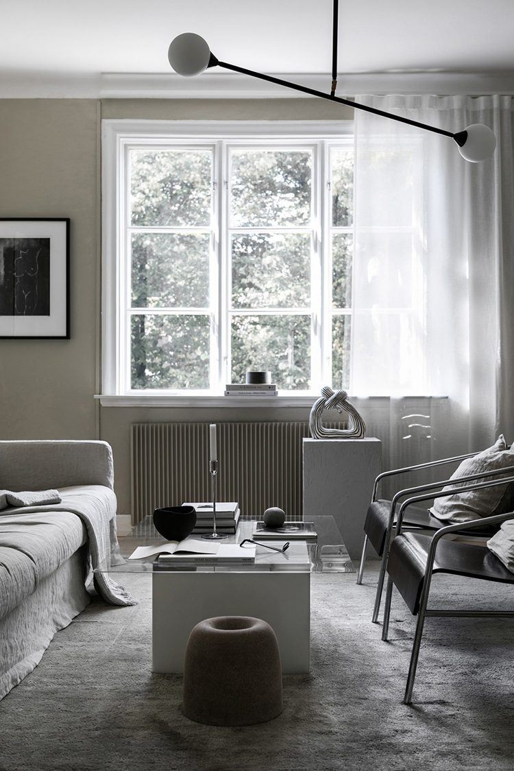 The impeccable home of Elin Kickén of SundlingKickén as shot by Mikael Lundblad for Residence magazine.