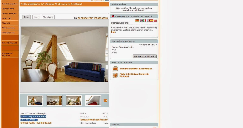 Wohnung Stuttgart Feuerbach