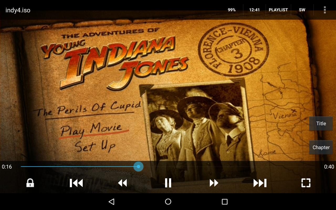 Playing ISO files on the Kindle Fire HD 8 with VLC and
