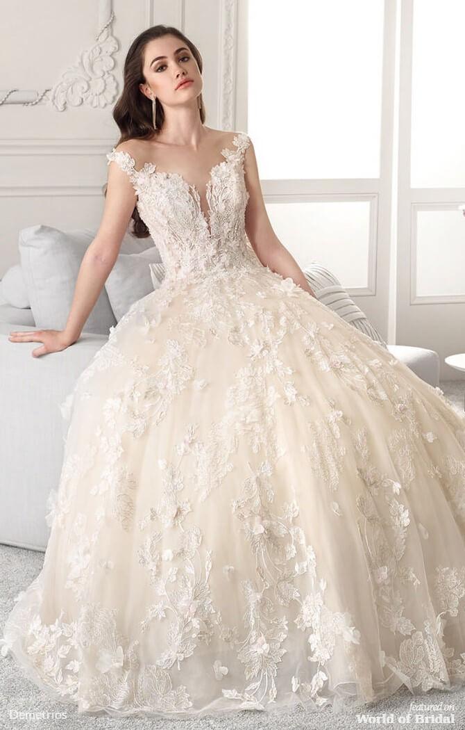 3cbb52923e Demetrios 2019 Wedding Dresses - World of Bridal