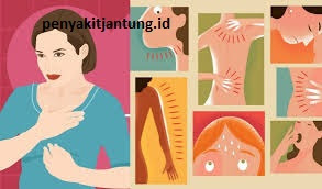 Gejala Serangan Jantung Pada Perempuan Wanita Muda