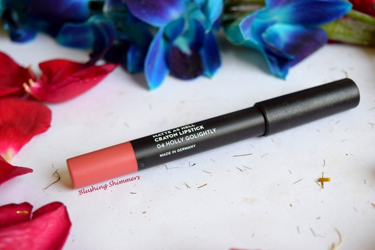Sugar Matte As Hell Lip Crayon-Holly Golightly