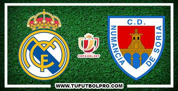 Ver Real Madrid vs Numancia EN VIVO Por Internet Hoy 10 de Enero de 2018