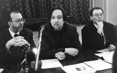 Alain de Benoist, Alexander Dugin, Robert Steuckers