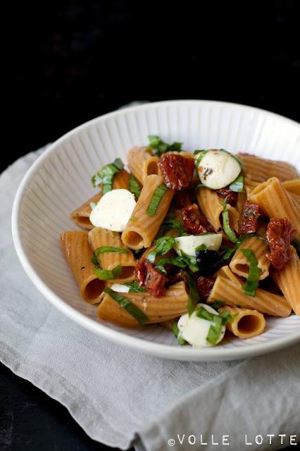 Salat, Sommer, einfach, lecker, Pasta, Nudeln, Italien, Grillen, Rezepte
