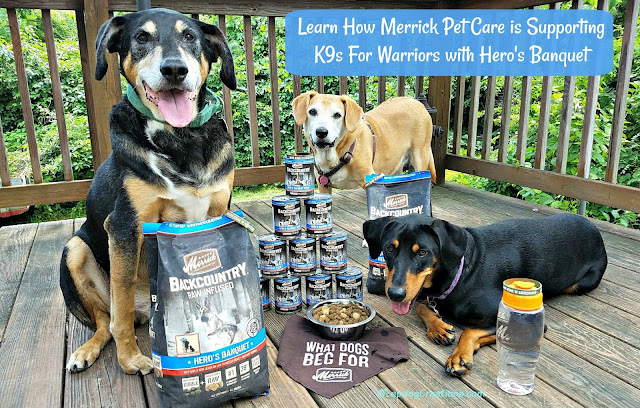 merrick k9s for warriors rescue dogs food