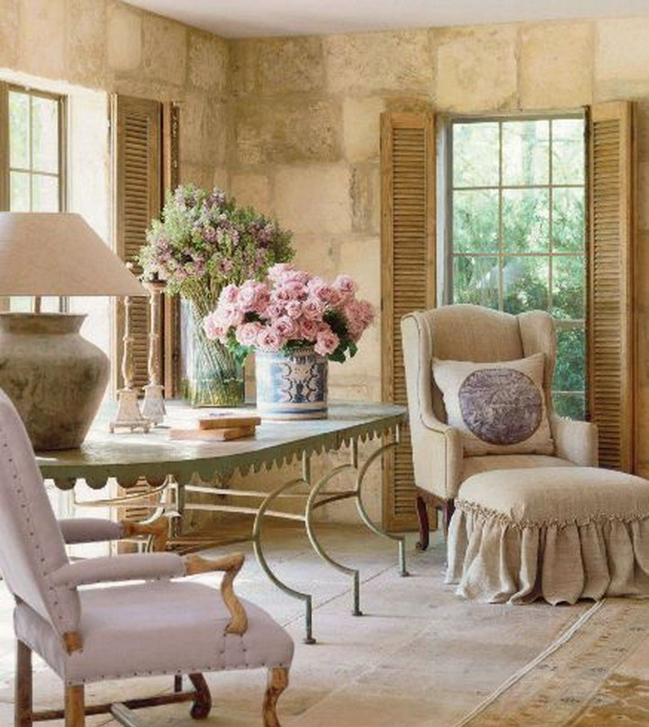 Attractive Pamela Pierce Design. Everything About This Room Has Wonderful French  Country Style ...