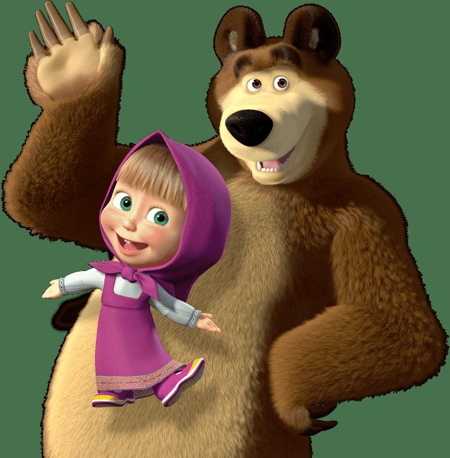 Baú De Imagens: Masha E O Urso (png