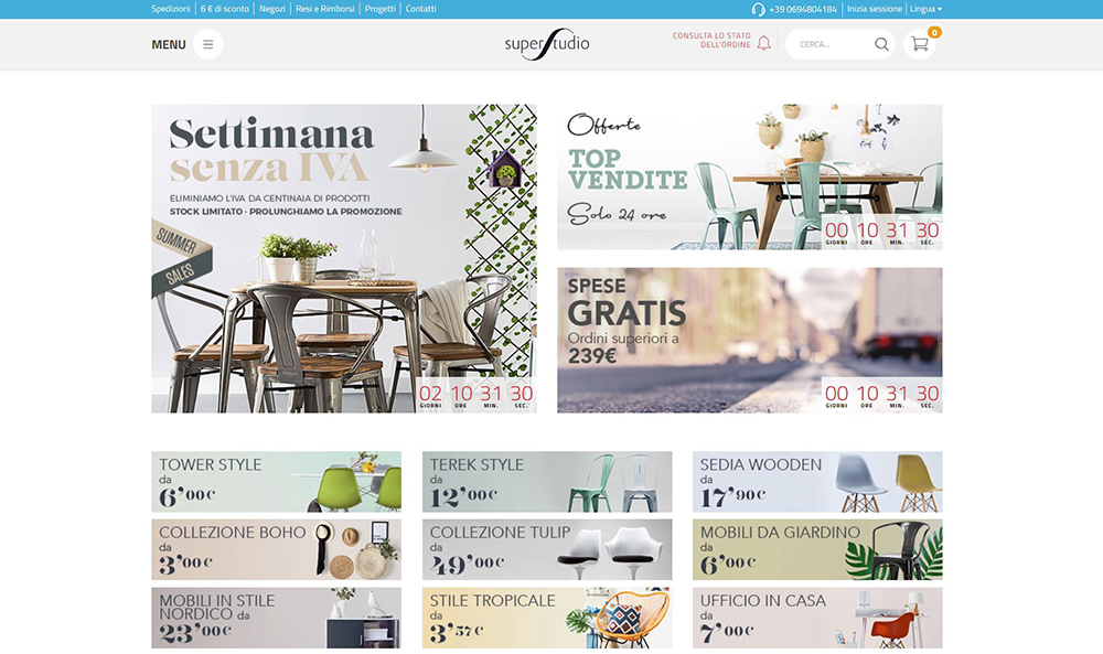 shopping online lampade design