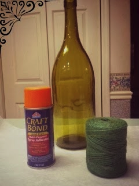 Friday Favs: Southern Komfort Blog (guest post- How to Make a Twine Wrapped Bottle)