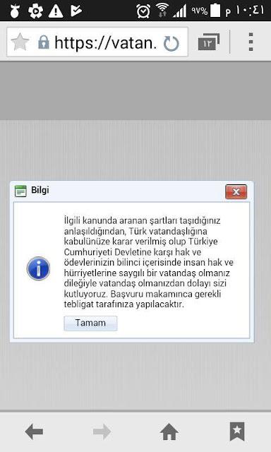 الانتقال من المرحلة السادسة إلى المرحلة الأخيرة من منح الجنسية التركية الاستثنائية