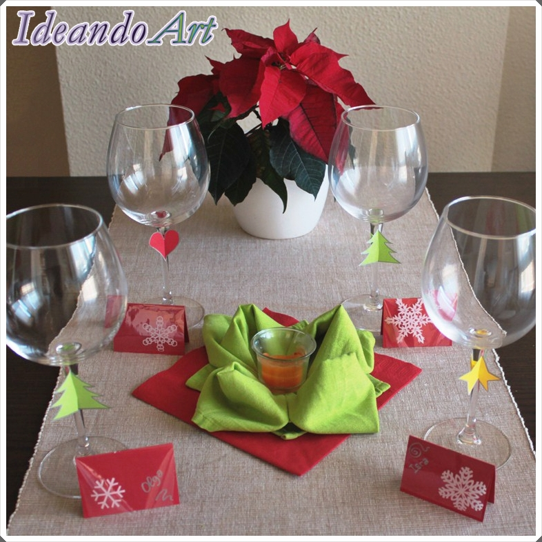 ideas decorar mesa navidea