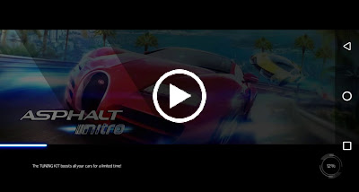Video asphalt nitro apk
