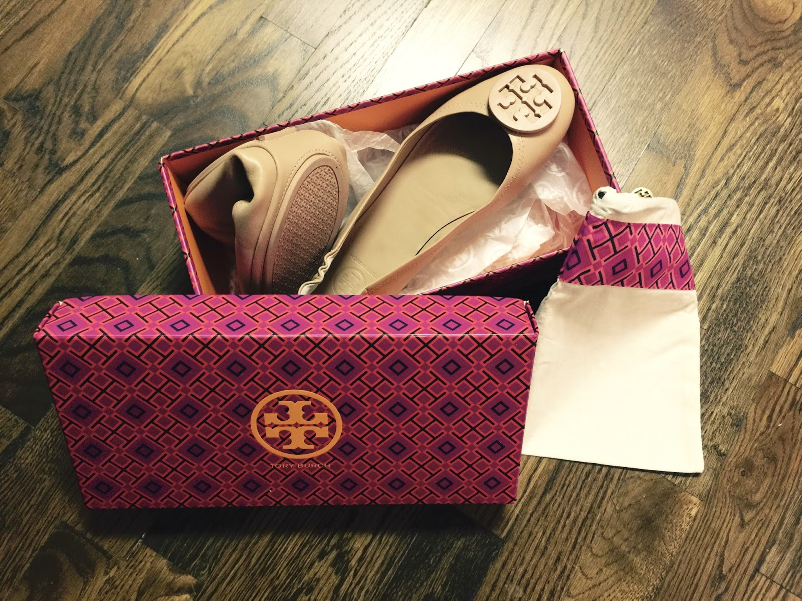 bf94abc8827 We ve all seen the Tory Burch Reva Ballerina Flat - you know the black  ballet flat with a metal medallion