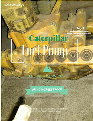 CAT 3412 fuel pump, used, reconditioned, fuel pump, marine engine, for sale, in stock, second hand