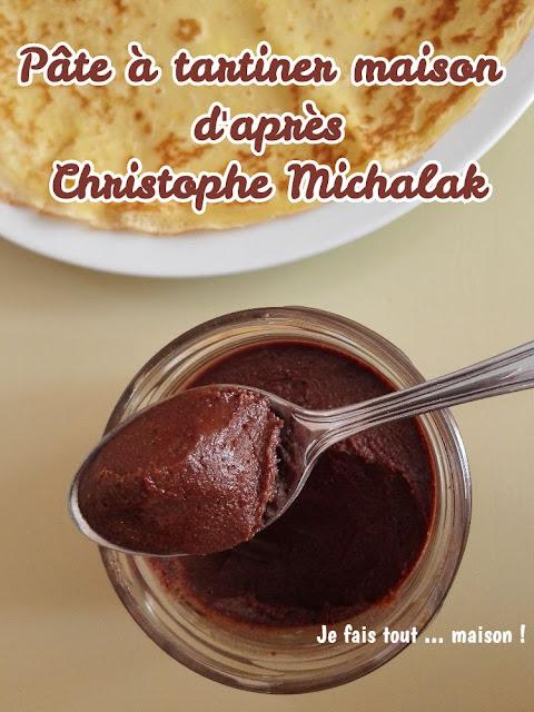 Pâte à tartiner maison chocolat et noisettes
