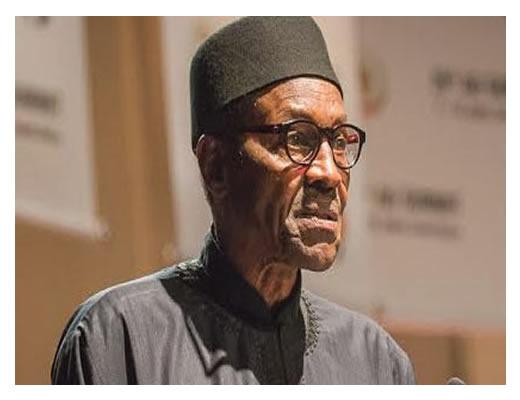 President Buhari receives prayer from Christians