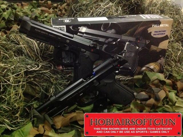 Airsoft Gun Malaysia: KJ Works Full Metal Beretta M9A1 (Gas