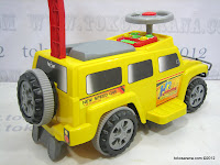 Junior H2 Hummer Ride-on Car Musical Melodies