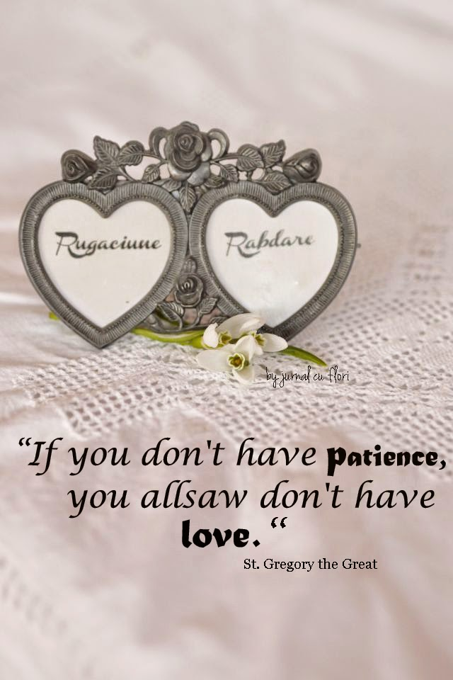 qoutes about love and patience snowdrops and hearts