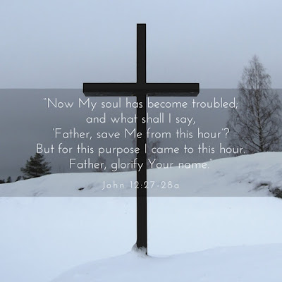 Why Was Jesus Born? John 12:27-28a To die for us and to glorify the Father   scriptureand.blogspot.com