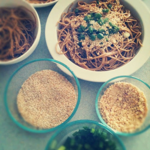 meals, simplified: spicy thai noodles