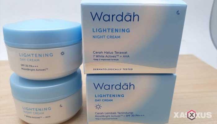 Cream pemutih wajah yang aman dan bagus - Wardah Lightening Day Cream