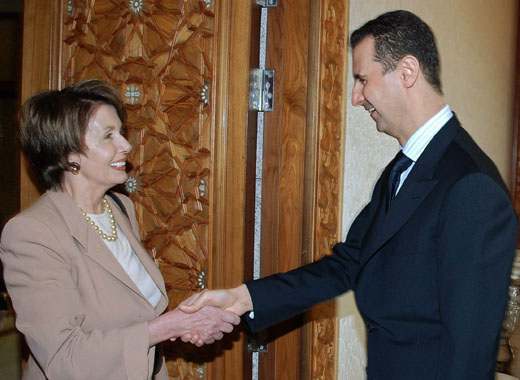 Remembering Nancy Pelosi's Syria Junket - Commentary Magazine