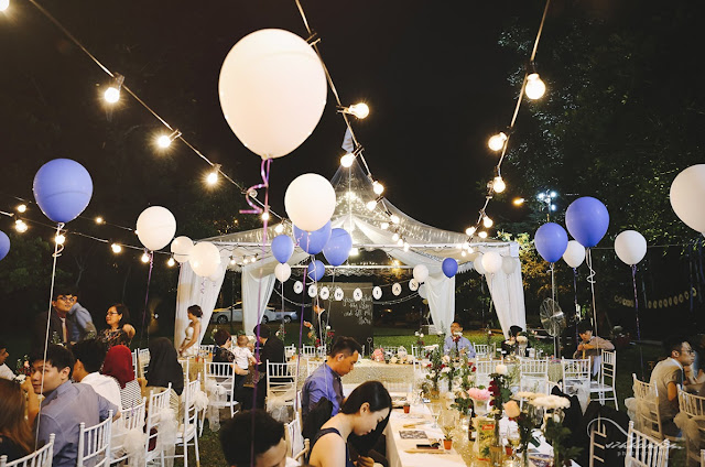outdoor wedding in Rawang