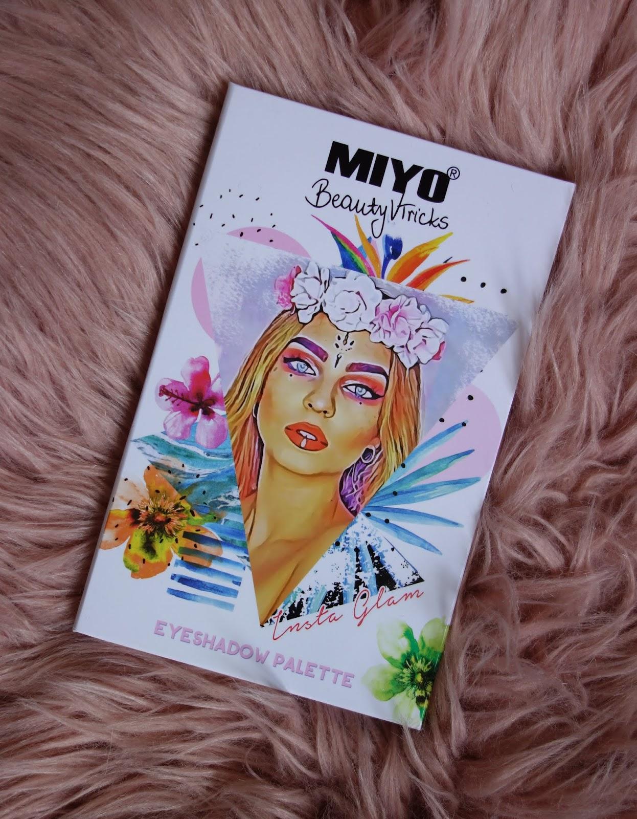 NOWOŚĆ: MIYOxBEAUTYVTRICKS Insta Glam Eyeshadow Palette   Pierwsze wrażenia + swatche