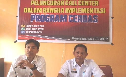Tim CERDAS Buka Hotline Khusus Layanan Kebersihan Warga, Benteng