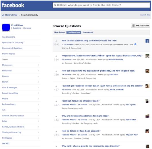 Contact Facebook Office