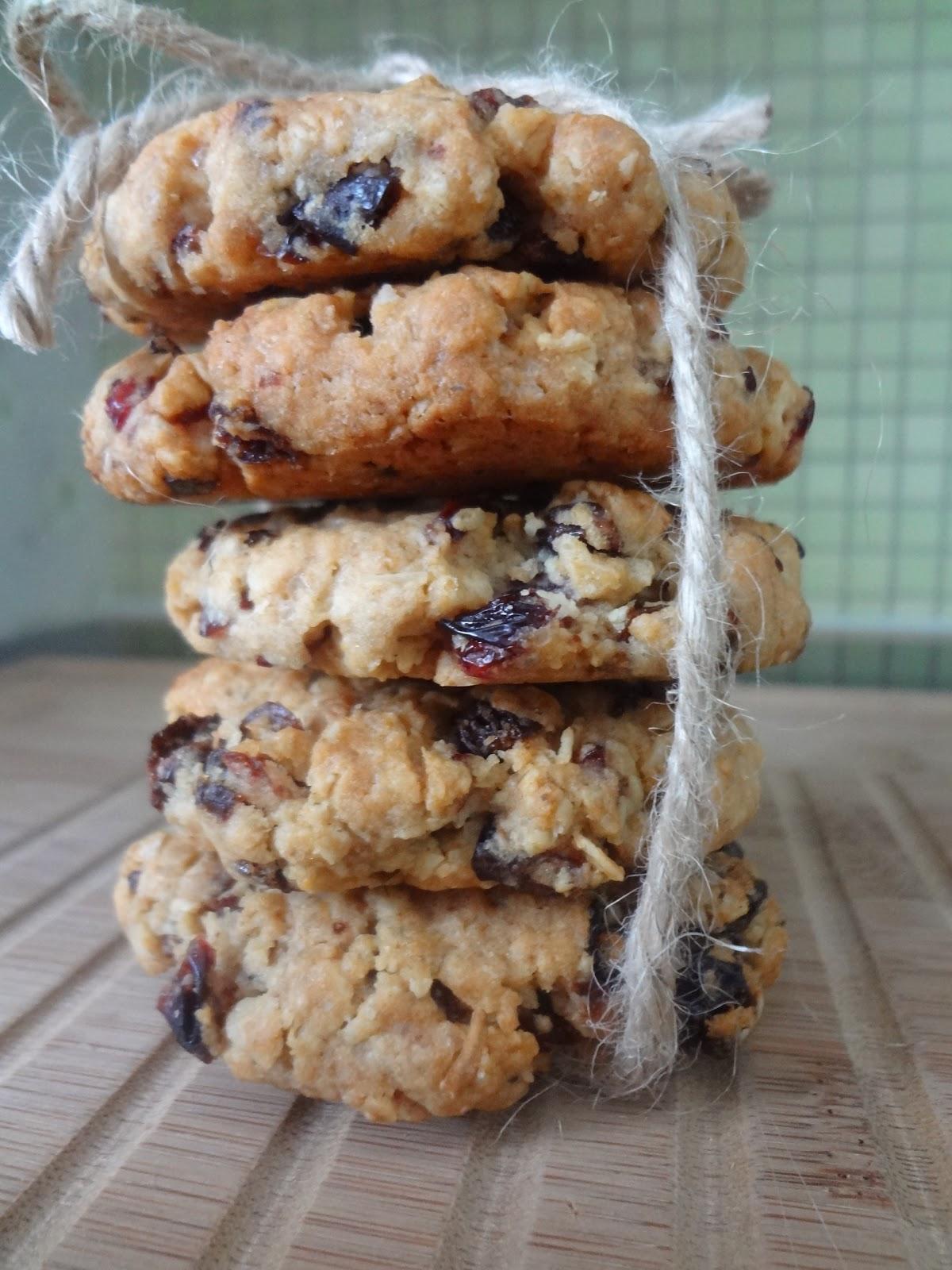 46ad28705 Noe godt på bordet: Havre og Bare Bær-cookies