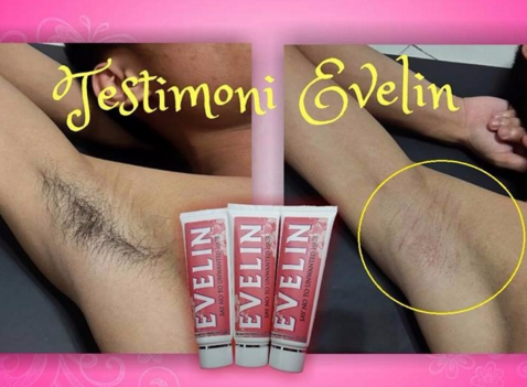 evelin hair removal cream selamat
