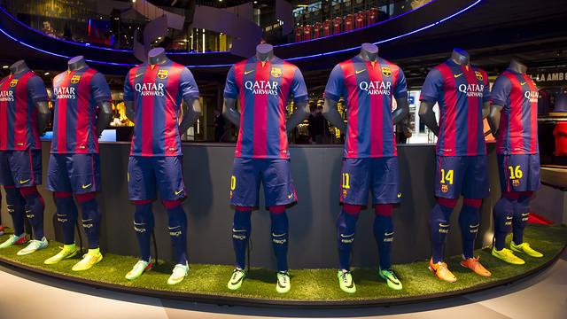 A Nike no le gusta la idea del Barça de unas camisetas sin publicidad