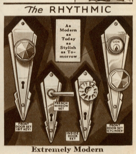sears catalog door hardware 1930s