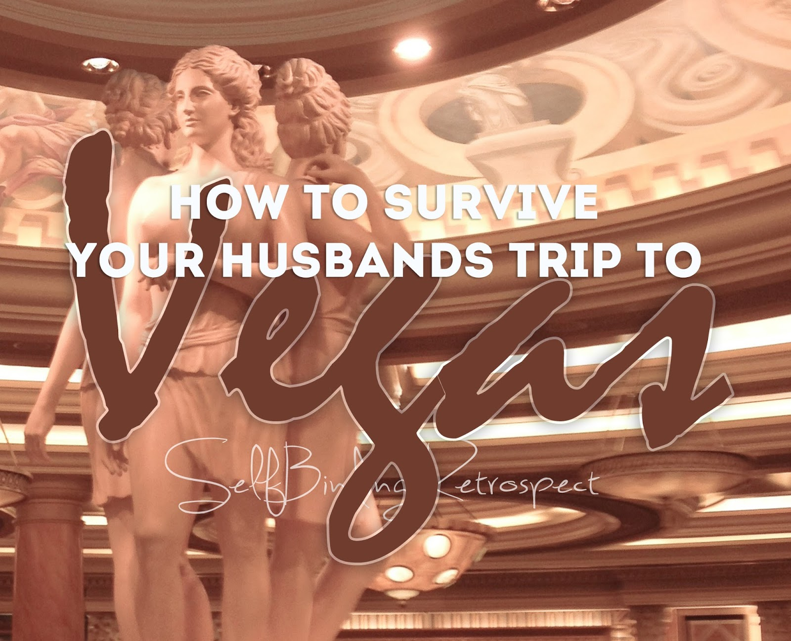 How to survive your husbands trip to Vegas - SelfBinding Retrospect by Alanna Rusnak