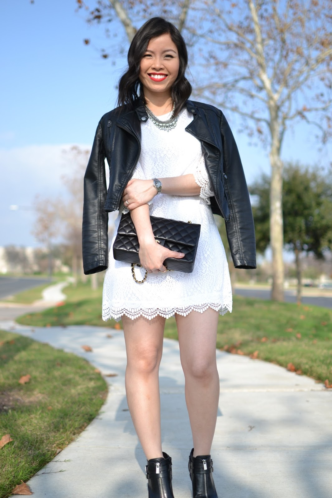 Style And Cappuccino 1st Post In 2016 White Lace Dress
