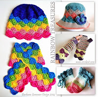 how to crochet, crochet patterns, keyhole scarf, hat, baby mittens, catherine wheel, sun hat,