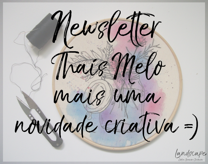 Newsletter Thaís Melo