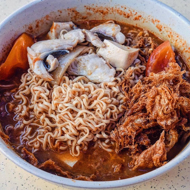 Tom Yam Fish Noodle