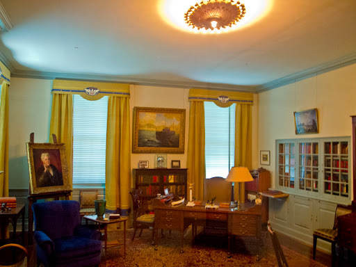 FDR Office - FDR Library - Hyde Park NY