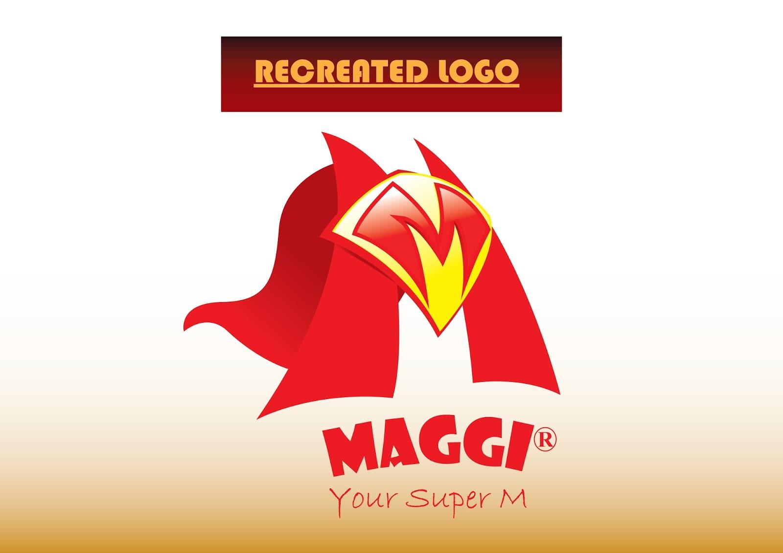 Subhajit Bhattacharjee: RECREATED MAGGI LOGO FROM ORIGINAL LOGO BY ... | {Maggi logo 57}